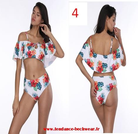 vente usa en ligne dernières conceptions diversifiées profiter de la livraison gratuite Maillots de bain femme été 2018 2019 Bikinis Taille Haute ...