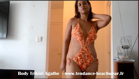 Sous-Vetements-Femme-2018-Lingerie-Body-Beachwear-Trikini-Coton-Sexy-Rouge-Orange-2018